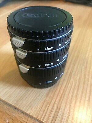 Canon Fit Auto Extension Tube Sit.  EF & EFs fit