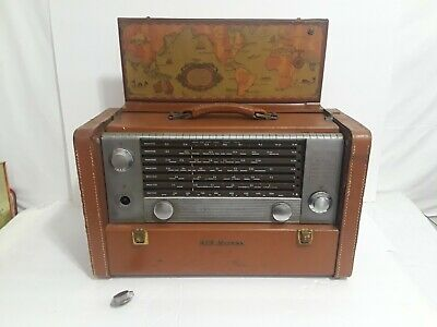Vintage RCA Victor - World Tube Radio  Shortwave Multi-Band  Parts Or Repair