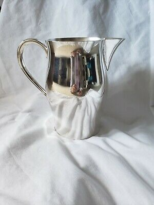 "Wm Rogers Silverplated 7"" Pitcher- Paul Revere Repoduction"