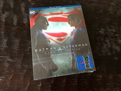 Batman v Superman: Dawn of Justice Lenticular Blu-ray Steelbook Manta Lab