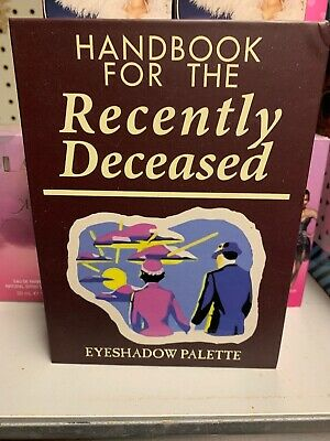 Beetlejuice Handbook For The Recently Deceased 12 Eyeshadow Book Palette