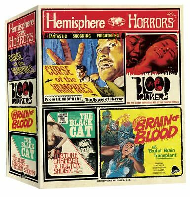 Hemisphere Box of Horrors (Blu-ray Box Set) HORROR GORE NUDITY SEVERIN FILMS