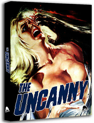 The Uncanny Blu-ray HORROR ANTHOLOGY RARE CAT PETER CUSHING DONALD PLEASENCE