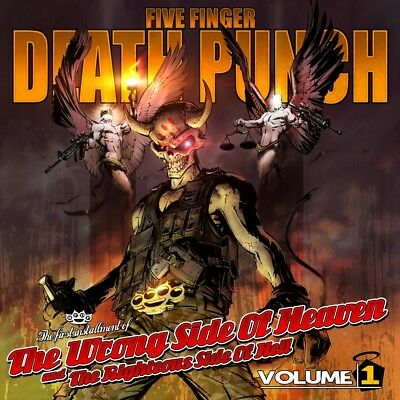 FIVE FINGER DEATH PUNCH - WRONG SIDE OF HEAVEN RIGHTEOUS SIDE... Vol.1 CD *NEW*
