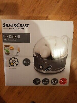 Egg Boiler Cooker Steamer Electric Boiled 7 Eggs Maker