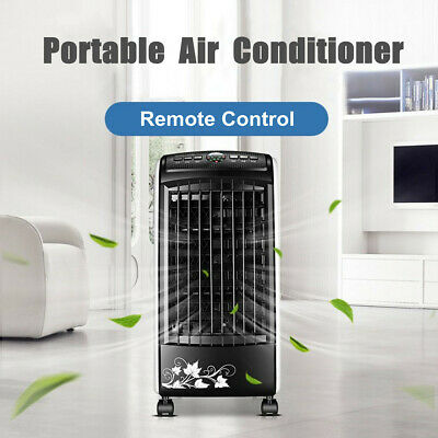Portable Climatiseur Air Conditionnée Ventilateur Humidificateur Cooler Commande