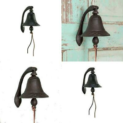 CTW Home Collection Cast Iron Logan Dinner Bell With Bracket -...