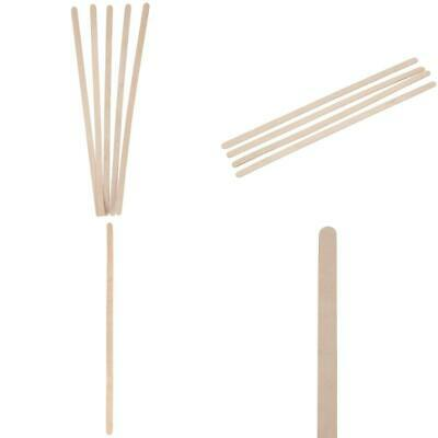 Birch Wood Coffee Stirrers, 1000 Count, Round Ends, 7 7 Inch