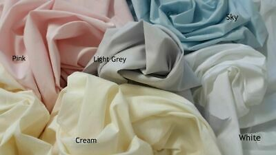Cot Pillow Case -100%  cotton sheeting - assorted colours