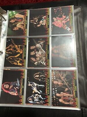KISS 360 Complete Set Trading Cards 2009