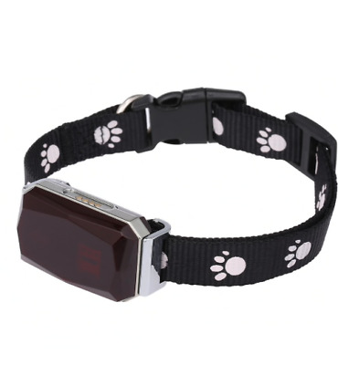 Collier Traceur GPS Bluetooth pour chien chiot chat pas cher neuf tracker gsm x