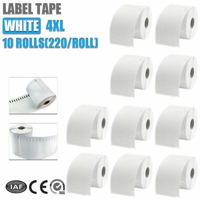 10x Compatible For Dymo Extra Large Shipping Labels S0904980 220 roll 104x159mm