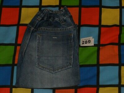 GEORGE Blue Jeans Age 8-9 Years (Height 1280-135cm). Adjustable Waist