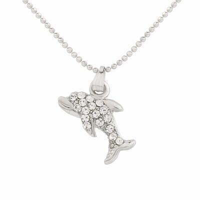 Fashionable Casual Long Fish Pendant with Chain Necklace for Girls and Women