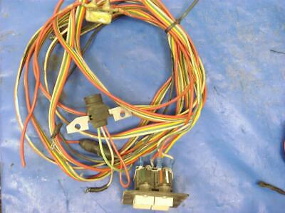 TRIM TABS SWITCH PANEL FITS BENNETT CON V TRIM SWITCH PSC21 LIGHTED VLD1A60B