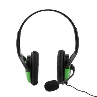 Wired Headset Headphone Earphone Steoro Microphone for PS4 Gaming PC Chat BR
