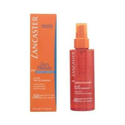 Aceite Bronceador Sun Beauty Dry Touch Lancaster SPF 50 (150 ml)