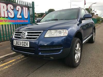 Volkswagen Touareg 3.2 V6 auto 2003,a truly luxury car, must be seen