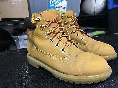 TODDLER/'S TIMBERLAND CLASSIC 6in BOOT WHEAT NUBUCK TB010860 713 DS BRAND NEW