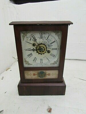 Antique American Shelf/Parlor/Mantel Alarm Clock William. L. Gilbert Clock Co