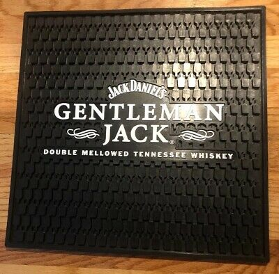 Jack Daniels Gentleman Rare Double Mellow Tennessee Whiskey Bar Square Mat
