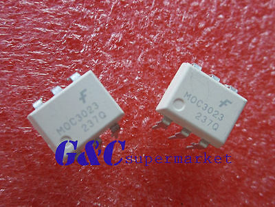 10pcs MOC3063  OPTOCOUPLER TRIAC 600V 6DIP ZC New good quality D30