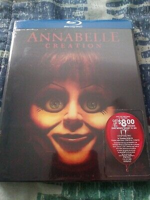 Annabelle Creation bluray with lenticular slipcover NEW