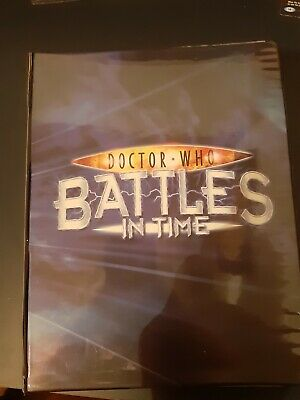 Doctor Who Battles In Time Binder With 400+ Cards