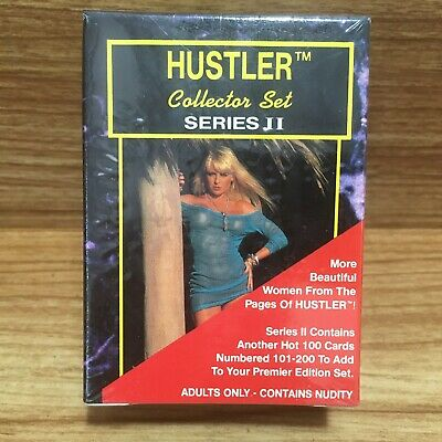 Hustler Series II Card Set 101-200 Collector Cards 1993 Factory Box Set SEALED