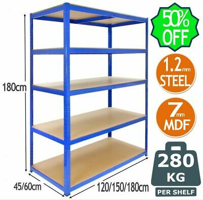 *WAREHOUSE CLEARANCE* Garage and Warehouse Shelving Racking Units Boltless Shelf