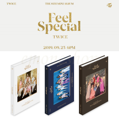 KPOP 트와이스 TWICE 8TH MINI ALBUM PACKAGE [ Feel Special ] A, B, C Ver. + Benefits