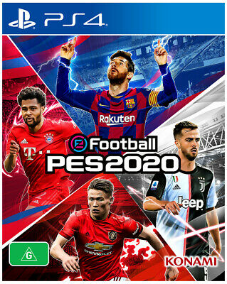Efootball Pes 2020  - PlayStation 4 game - BRAND NEW