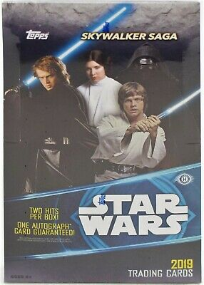 2019 Topps Star Wars Skywalker Saga FACTORY SEALED Hobby Box Free S&H