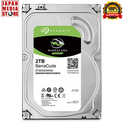 Seagate BarraCuda 2TB Internal Hard Disk HDD 3.5inch SATA 5400rpm ST2000DM008