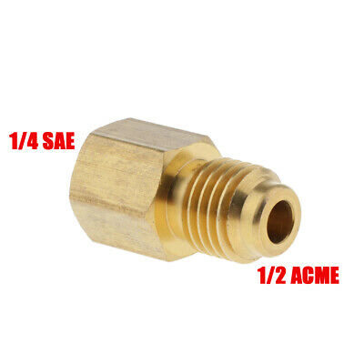 Solid Brass R134A Refrigerant Tank Vacuum Pump Adapter Practical DURABLE