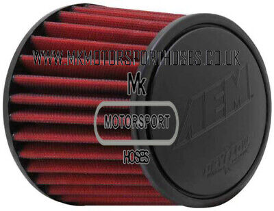 Aem 80Mm Cone Filter Red Or Grey