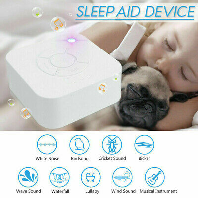 White Noise Sound Spa Relax Machine Baby/Adult Nature Sleep Night Therapy Device