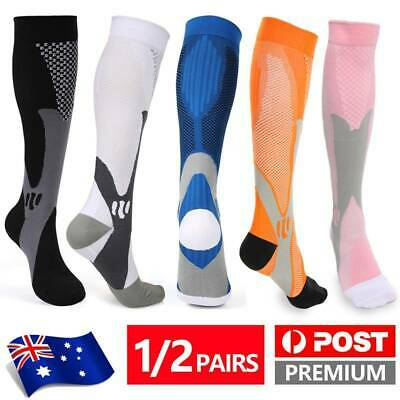 Plantar Fasciitis Compression Socks Stocking Foot Brace Support Arch Pain Relief