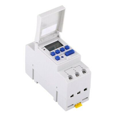 Digital LCD Display Programmable Timer On/Off Switch Socket 24hr 7Day  AC220V