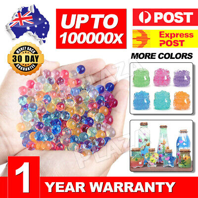 100000 Orbeez Crystal Soil Water Balls Jelly Gel Beads For Vase Home Wedding