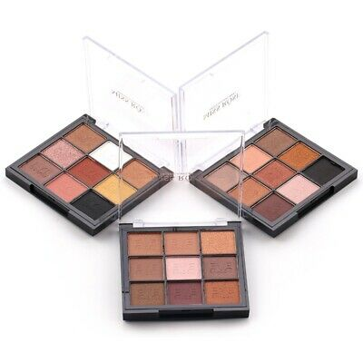 9 Colors Eyeshadow Palette Portable Mattes Eye Shadow For All Skin Tones 1pc