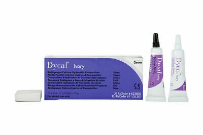 Dycal Ivory Dentin Radiopaque Calcium Hydroxide Dental Pulp Capping Long Expiry