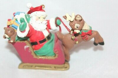 Midwest Santa New retired Christmas ornament Rudolph the Movie box