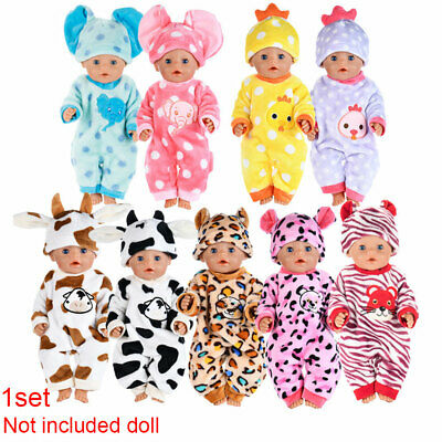 """Hot~ Fits 18"""" inch Doll Baby Dolls Handmade fashion Doll Clothes dress Outfit"""
