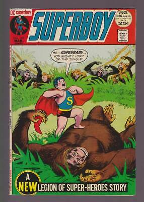 Superboy # 183  Superbaby..Mighty Lord of the Jungle !  grade 9.2 scarce book !