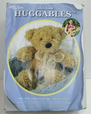 Sealed Kitty Open Box Latch Hook HUGGABLES Stuffed Toy MCG Textiles Frog