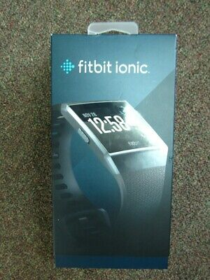 Fitbit Ionic FB503GYBK Smartwatch Activity Tracker Heart Rate Monito (NJL016631)