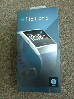 Fitbit Ionic FB503WTGY Smartwatch Activity Tracker Heart Rate Monito (NJL016632)