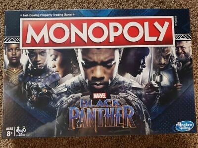 New Monopoly Game: Black Panther Edition
