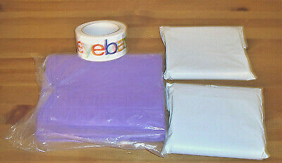 Shipping Supplies Lot 200 6 x9 Polybags 100 9 x 12 Polymailers + Roll Ebay Tape